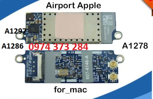 Airport card wifi macbook
