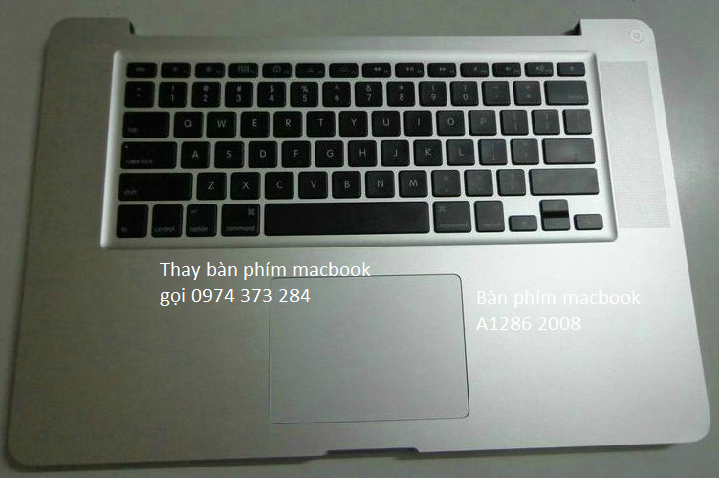 Be ban phim macbook APPLE MACBOOK PRO A1286 MB470 MB471 2008 C