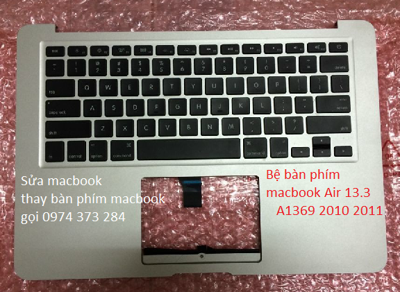 Macbook AIR A1369 VỎ C keyboard